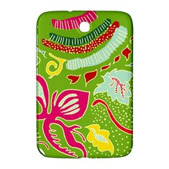 Green Organic Abstract Samsung Galaxy Note 8 0 N5100 Hardshell Case  by DanaeStudio