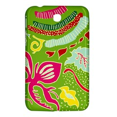Green Organic Abstract Samsung Galaxy Tab 3 (7 ) P3200 Hardshell Case  by DanaeStudio
