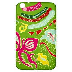 Green Organic Abstract Samsung Galaxy Tab 3 (8 ) T3100 Hardshell Case