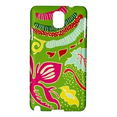 Green Organic Abstract Samsung Galaxy Note 3 N9005 Hardshell Case