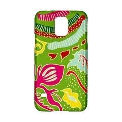 Green Organic Abstract Samsung Galaxy S5 Hardshell Case