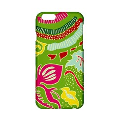 Green Organic Abstract Apple Iphone 6/6s Hardshell Case by DanaeStudio