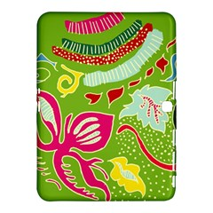 Green Organic Abstract Samsung Galaxy Tab 4 (10 1 ) Hardshell Case