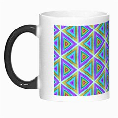Colorful Retro Geometric Pattern Morph Mugs by DanaeStudio