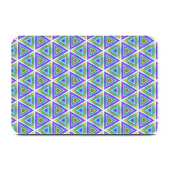 Colorful Retro Geometric Pattern Plate Mats