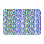 Colorful Retro Geometric Pattern Plate Mats 18 x12 Plate Mat - 1
