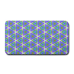 Colorful Retro Geometric Pattern Medium Bar Mats by DanaeStudio