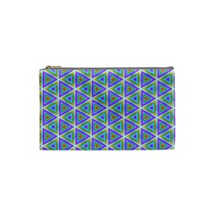 Colorful Retro Geometric Pattern Cosmetic Bag (small)