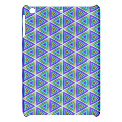 Colorful Retro Geometric Pattern Apple Ipad Mini Hardshell Case