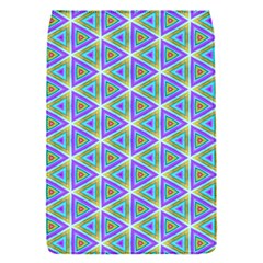 Colorful Retro Geometric Pattern Flap Covers (s)  by DanaeStudio