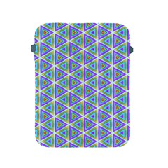 Colorful Retro Geometric Pattern Apple Ipad 2/3/4 Protective Soft Cases by DanaeStudio