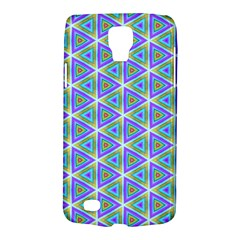 Colorful Retro Geometric Pattern Galaxy S4 Active by DanaeStudio