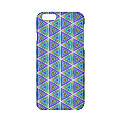 Colorful Retro Geometric Pattern Apple Iphone 6/6s Hardshell Case by DanaeStudio