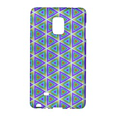 Colorful Retro Geometric Pattern Galaxy Note Edge
