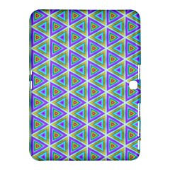 Colorful Retro Geometric Pattern Samsung Galaxy Tab 4 (10 1 ) Hardshell Case