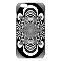 Black And White Ornamental Flower Iphone 6 Plus/6s Plus Tpu Case by designworld65