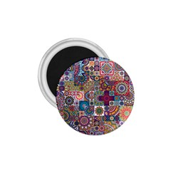 Ornamental Mosaic Background 1 75  Magnets by TastefulDesigns