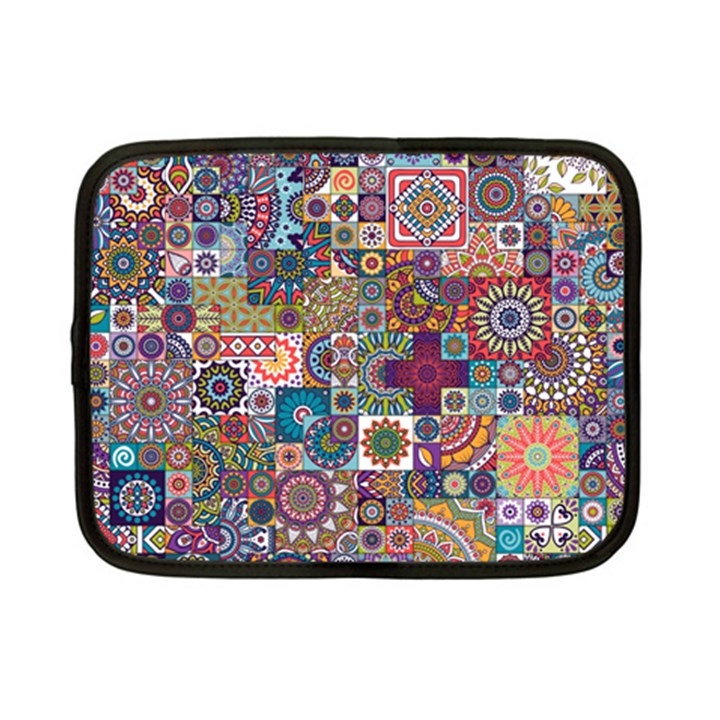 Ornamental Mosaic Background Netbook Case (Small)