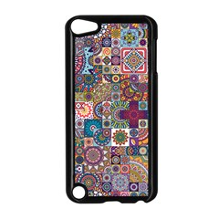 Ornamental Mosaic Background Apple Ipod Touch 5 Case (black) by TastefulDesigns