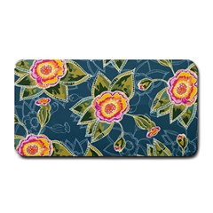 Floral Fantsy Pattern Medium Bar Mats by DanaeStudio
