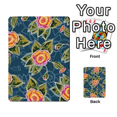 Floral Fantsy Pattern Multi Purpose Cards (rectangle)  by DanaeStudio