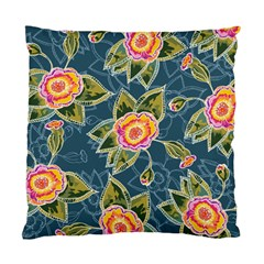 Floral Fantsy Pattern Standard Cushion Case (two Sides) by DanaeStudio
