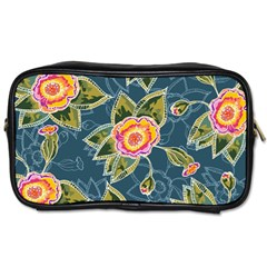 Floral Fantsy Pattern Toiletries Bags by DanaeStudio