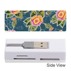 Floral Fantsy Pattern Memory Card Reader (stick)  by DanaeStudio
