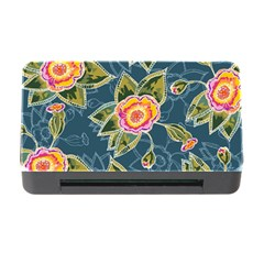 Floral Fantsy Pattern Memory Card Reader With Cf by DanaeStudio