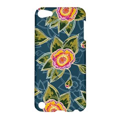 Floral Fantsy Pattern Apple Ipod Touch 5 Hardshell Case by DanaeStudio