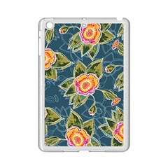 Floral Fantsy Pattern Ipad Mini 2 Enamel Coated Cases by DanaeStudio
