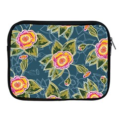 Floral Fantsy Pattern Apple Ipad 2/3/4 Zipper Cases by DanaeStudio