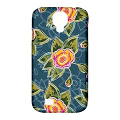 Floral Fantsy Pattern Samsung Galaxy S4 Classic Hardshell Case (pc+silicone) by DanaeStudio