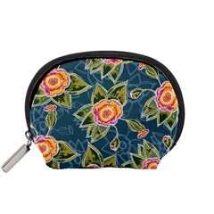 Floral Fantsy Pattern Accessory Pouches (small)  by DanaeStudio