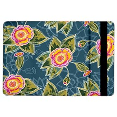 Floral Fantsy Pattern Ipad Air 2 Flip by DanaeStudio