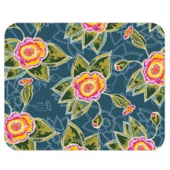 Floral Fantsy Pattern Double Sided Flano Blanket (medium)  by DanaeStudio