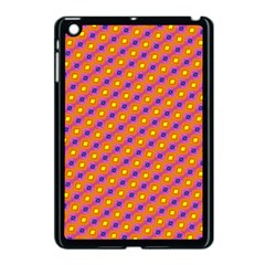 Vibrant Retro Diamond Pattern Apple Ipad Mini Case (black)