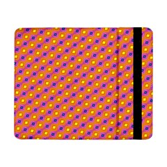 Vibrant Retro Diamond Pattern Samsung Galaxy Tab Pro 8 4  Flip Case by DanaeStudio