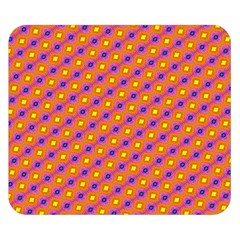Vibrant Retro Diamond Pattern Double Sided Flano Blanket (small)  by DanaeStudio