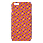 Vibrant Retro Diamond Pattern iPhone 6 Plus/6S Plus TPU Case Front