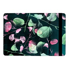Modern Green And Pink Leaves Samsung Galaxy Tab Pro 10 1  Flip Case by DanaeStudio