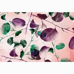 Spiral Eucalyptus Leaves Collage Prints by DanaeStudio
