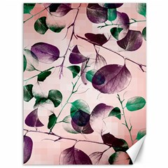 Spiral Eucalyptus Leaves Canvas 36  X 48   by DanaeStudio