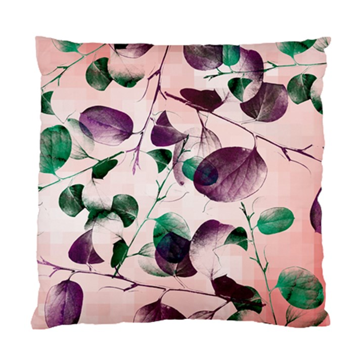 Spiral Eucalyptus Leaves Standard Cushion Case (Two Sides)