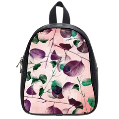 Spiral Eucalyptus Leaves School Bags (small)  by DanaeStudio
