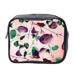 Spiral Eucalyptus Leaves Mini Toiletries Bag 2 Side by DanaeStudio