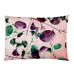 Spiral Eucalyptus Leaves Pillow Case (two Sides) by DanaeStudio