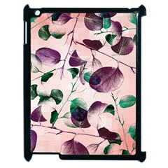 Spiral Eucalyptus Leaves Apple Ipad 2 Case (black) by DanaeStudio
