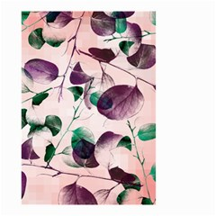 Spiral Eucalyptus Leaves Small Garden Flag (two Sides) by DanaeStudio