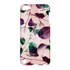 Spiral Eucalyptus Leaves Apple Ipod Touch 5 Hardshell Case by DanaeStudio